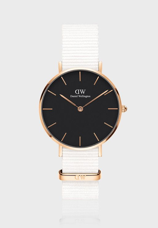 Petite Dover Rose Gold Black 32 mm Watch DW00100312