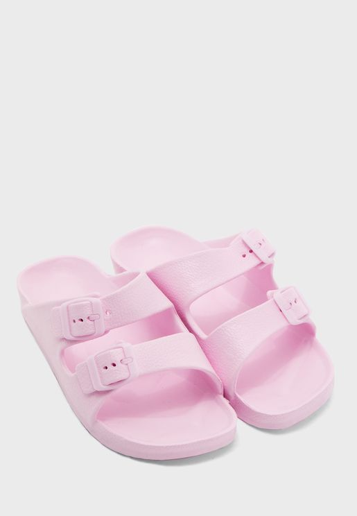 Kids Twin Strap Sandal