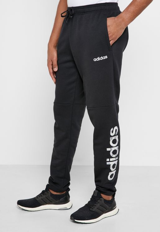 Essential Camo Linear Logo Sweatpants