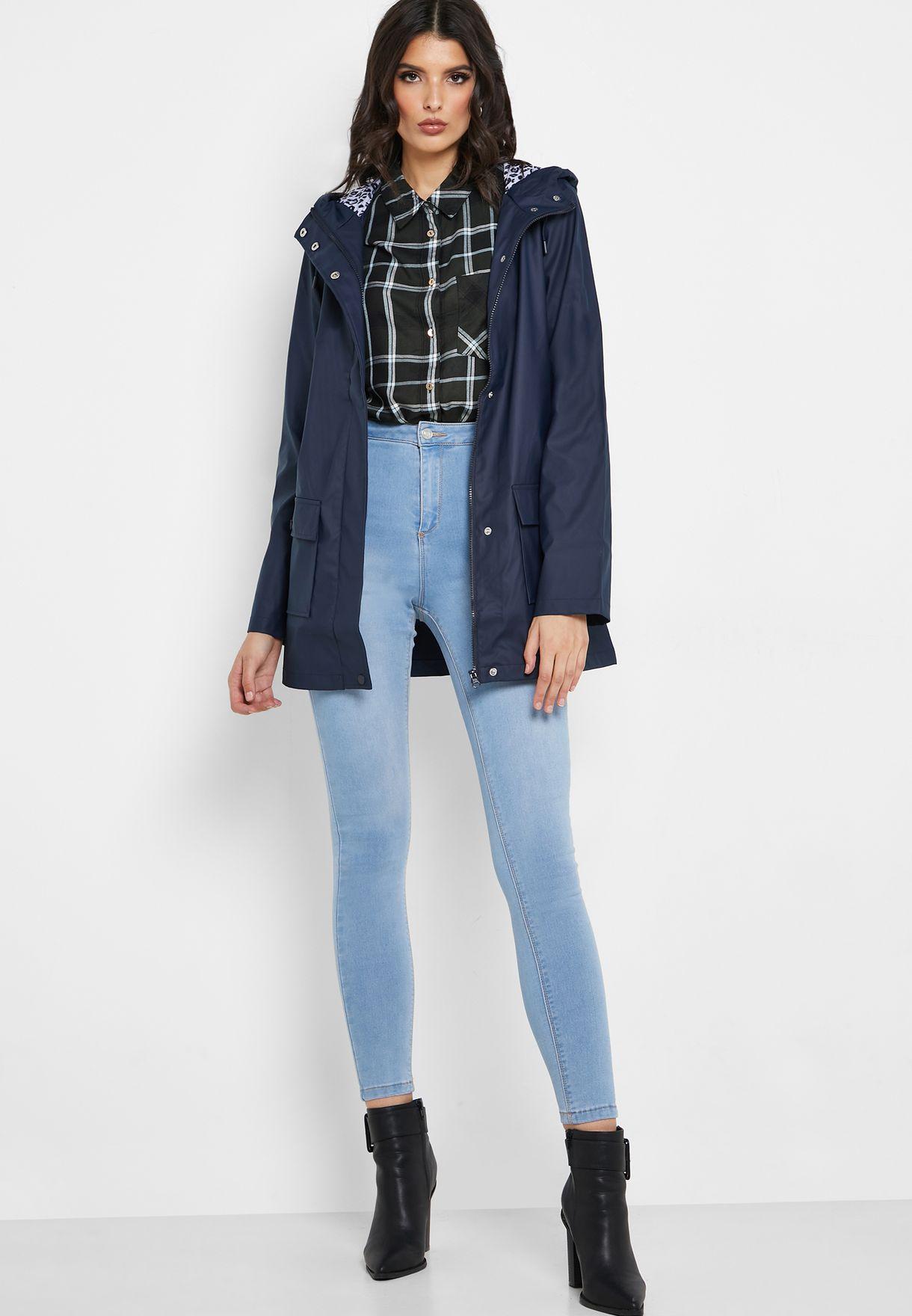 معطف مطري مطبع بهودي