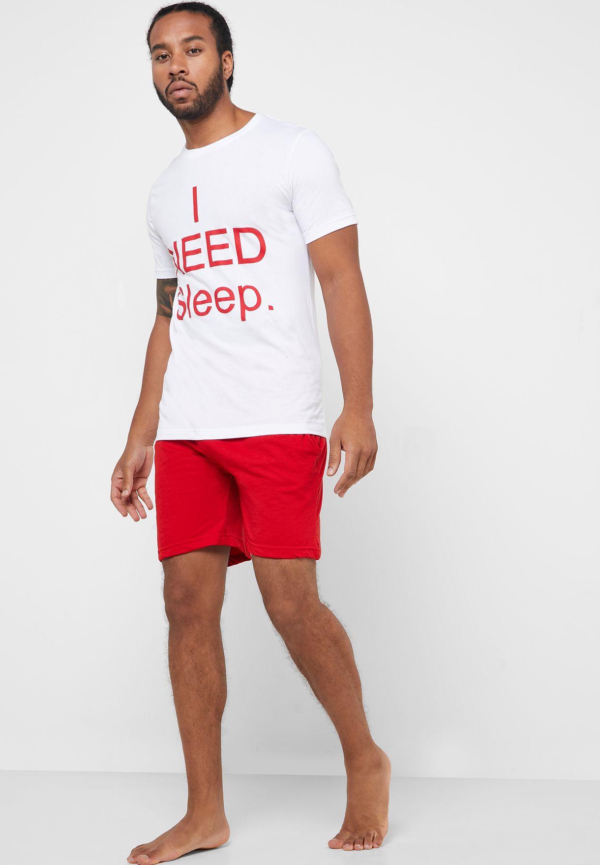 I Need Sleep Nightwear Set