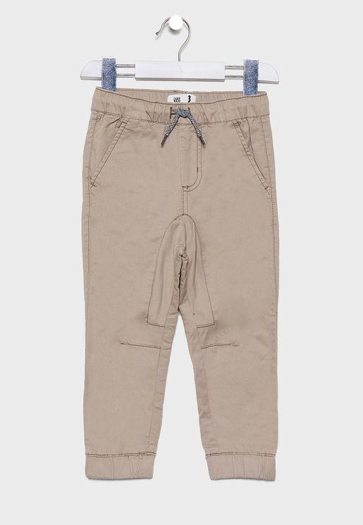 Kids Cuffed Trouser