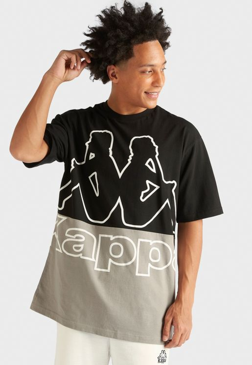 Logo Colour Block T-Shirt