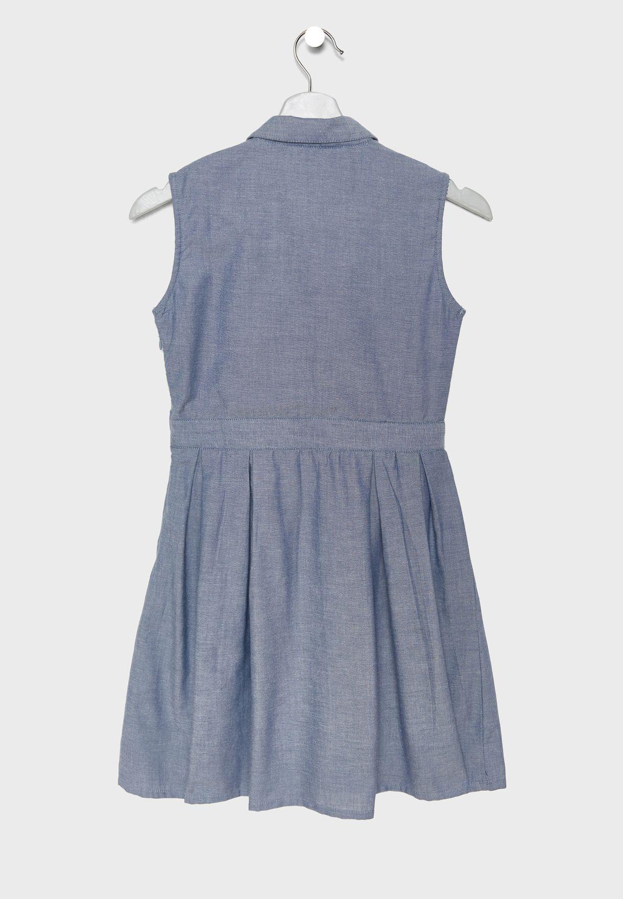 فستان بنمط جينز
