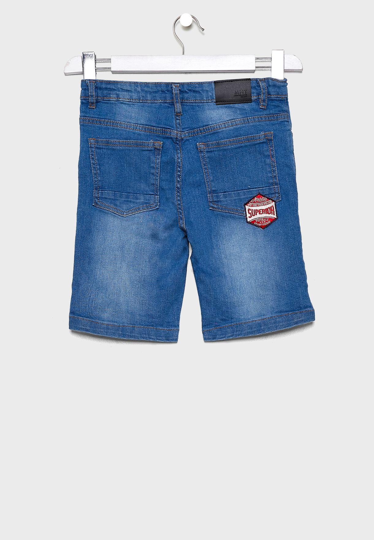 Teen Badges Shorts