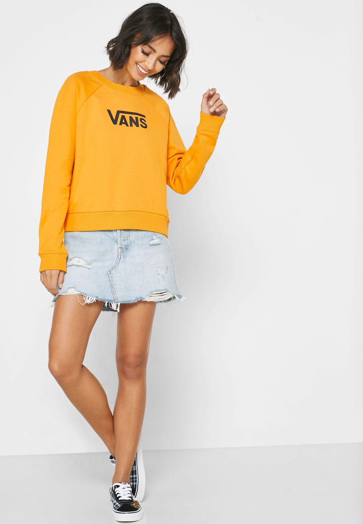 Flying Boxy Sweatshirt