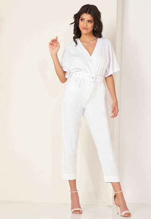 Scenic Belted Jumpsuit