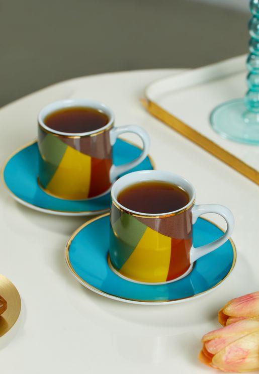 Set Of 2 Sarb Espresso Set - Bee Eater
