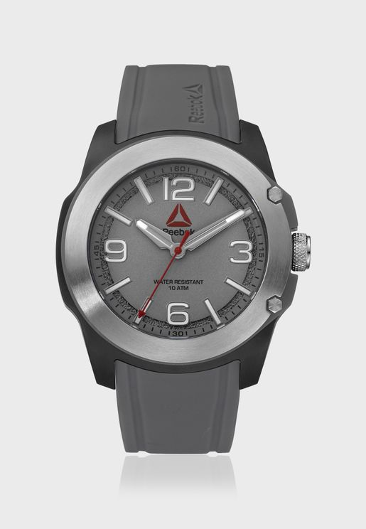 300Ct Silicone Strap Watch