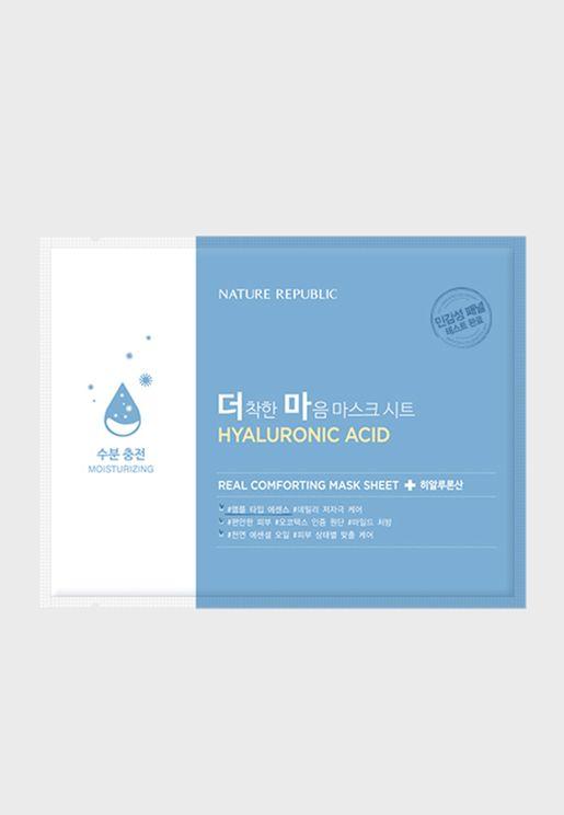 Real Comforting Mask Sheet Hyaluronic Acid