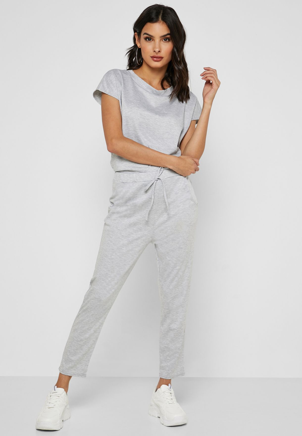 T-Shirt Drawstring Pants Set
