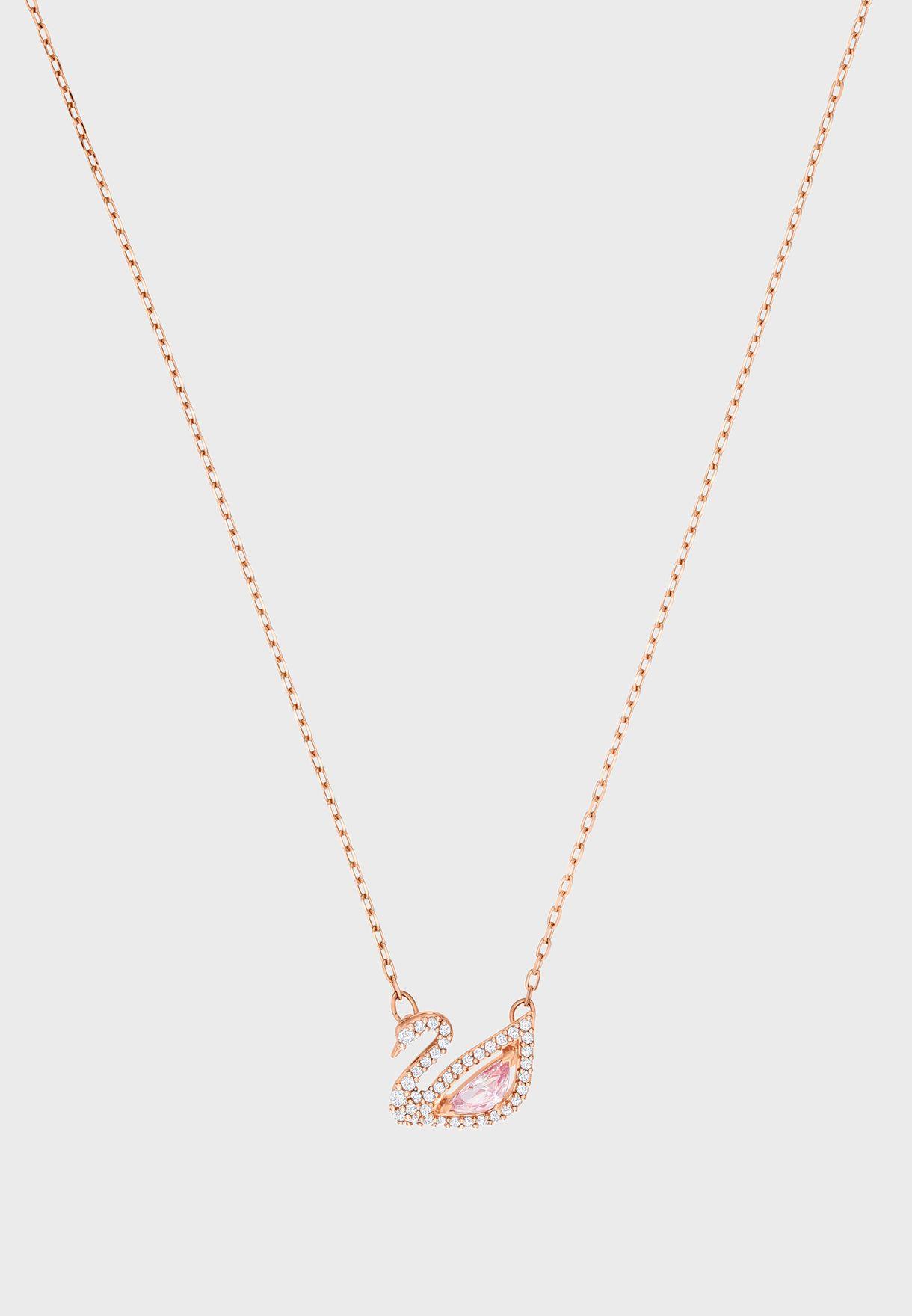 Dazzling Swan Necklace