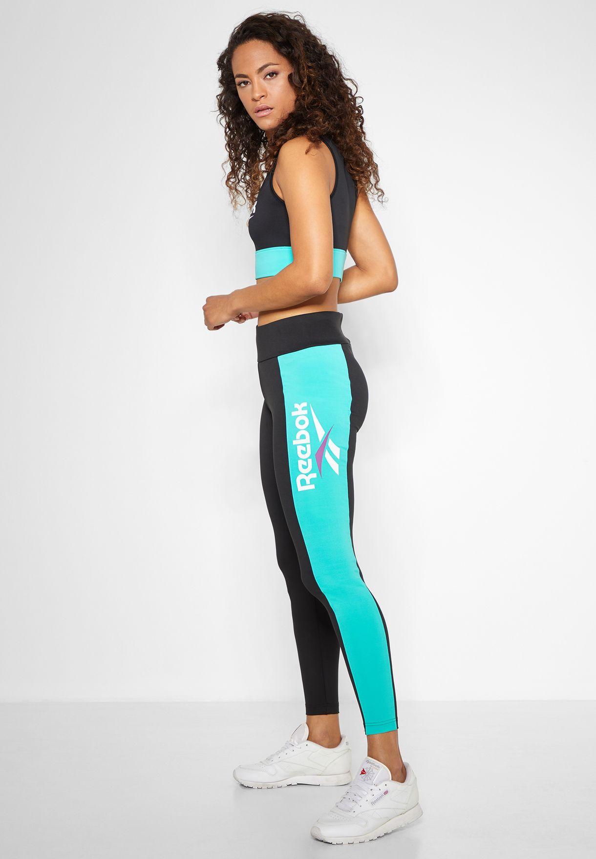 6fd5bff74c8f4 Shop Reebok black Classic Leggings DX3797 for Women in Bahrain ...
