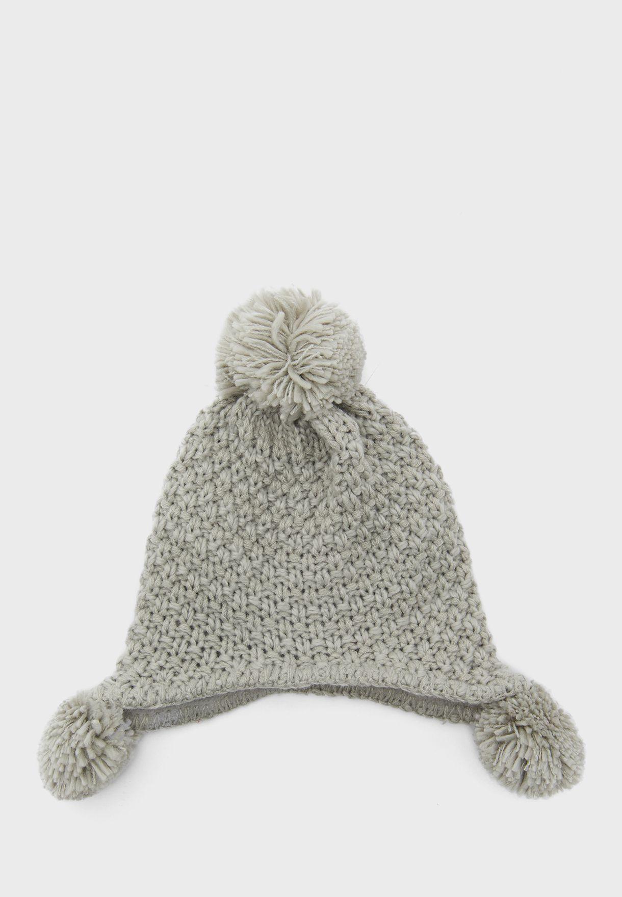 طقم قبعة + قفازات