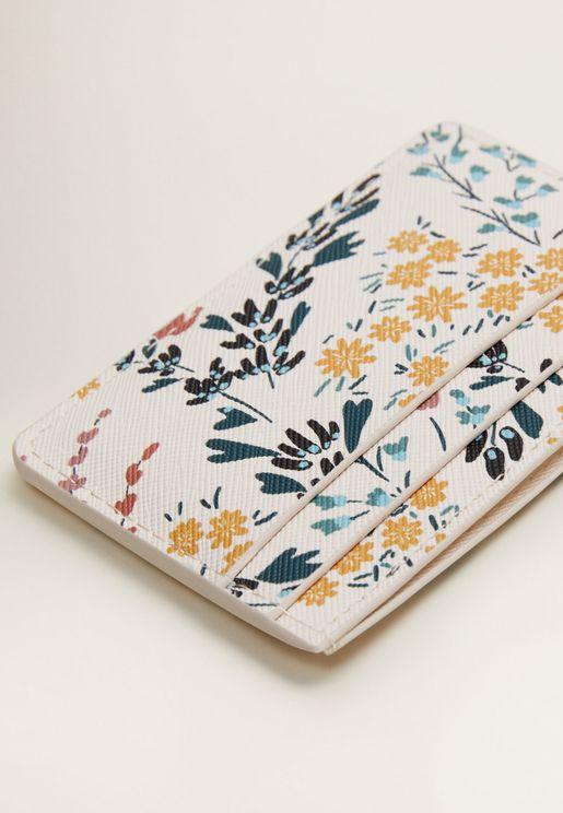 Flores Card Holder