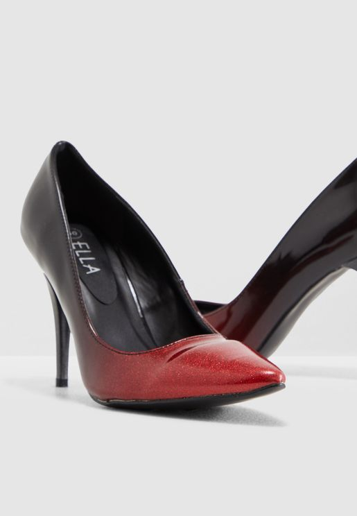 حذاء بنمط مزيج الالوان