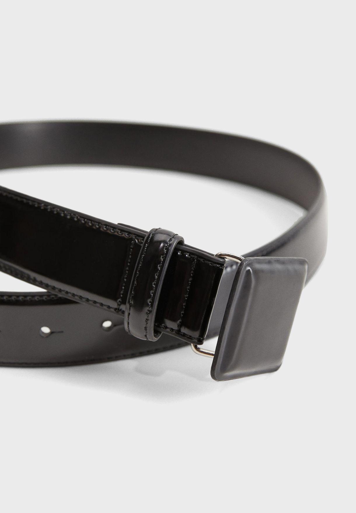 Bob Square Buckle Belt