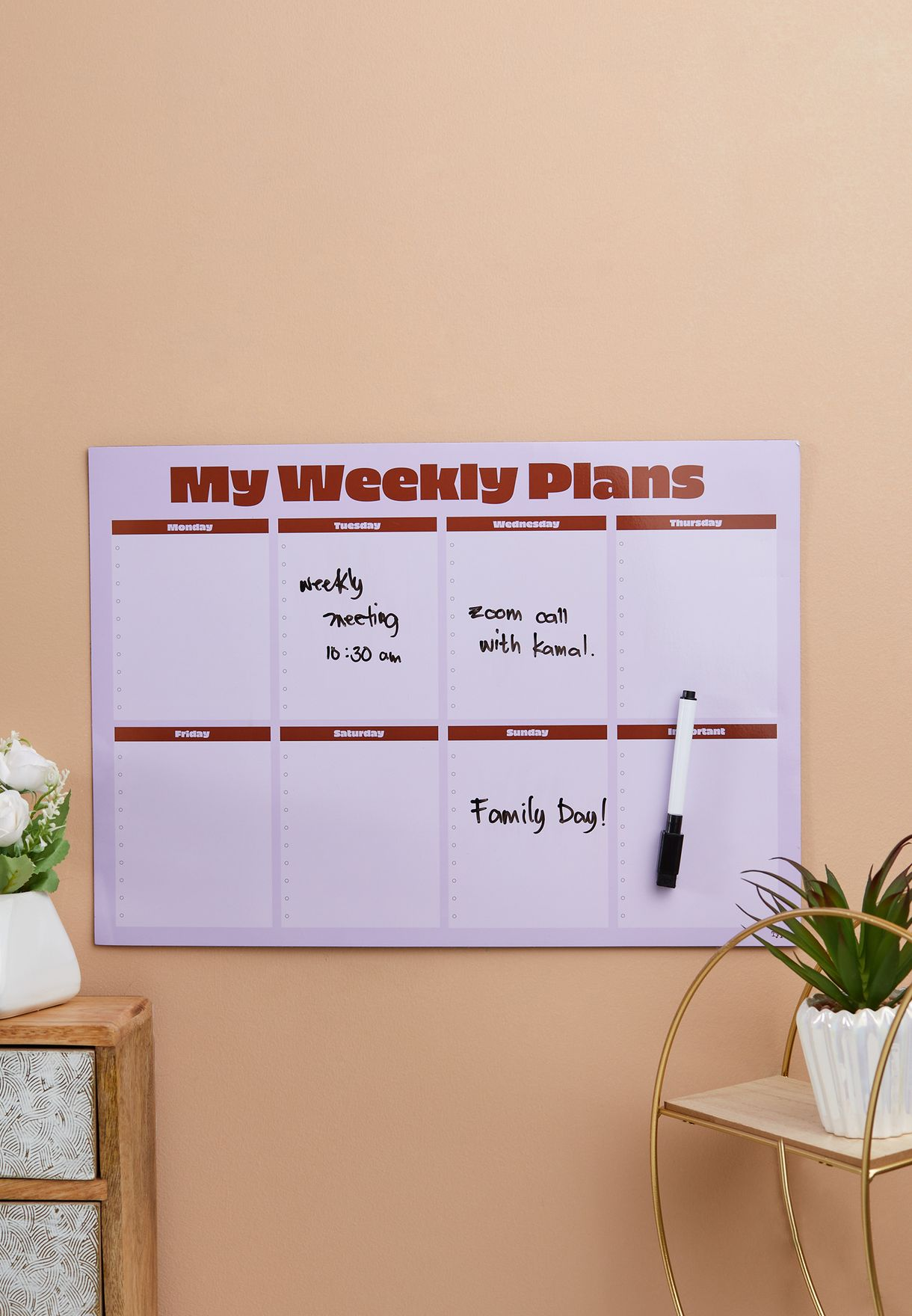 A3 Magnetic Planner