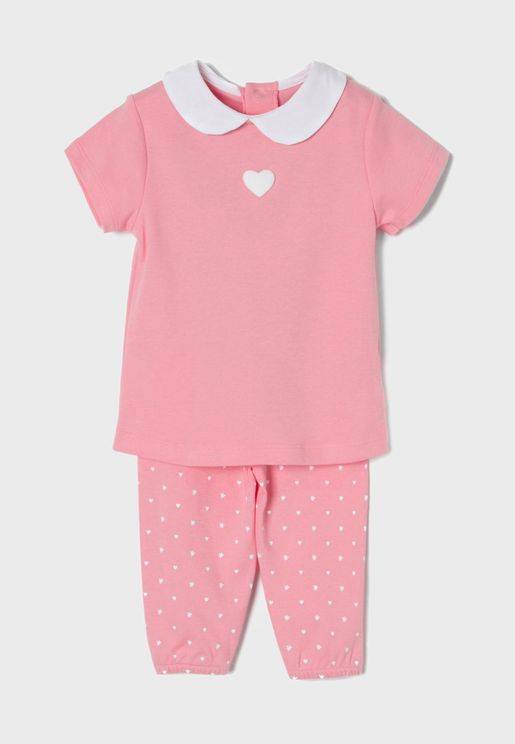 Infant Printed Pyjama Set