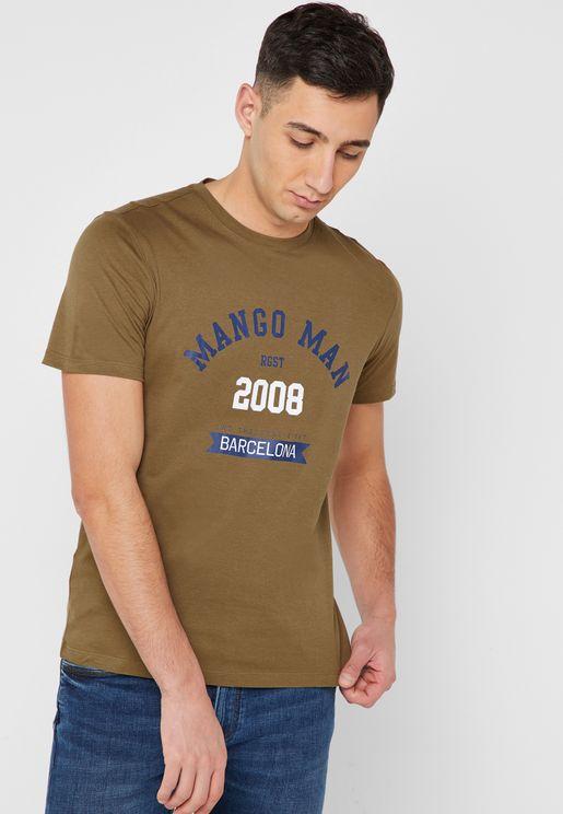 Loghe Crew Neck T-Shirt