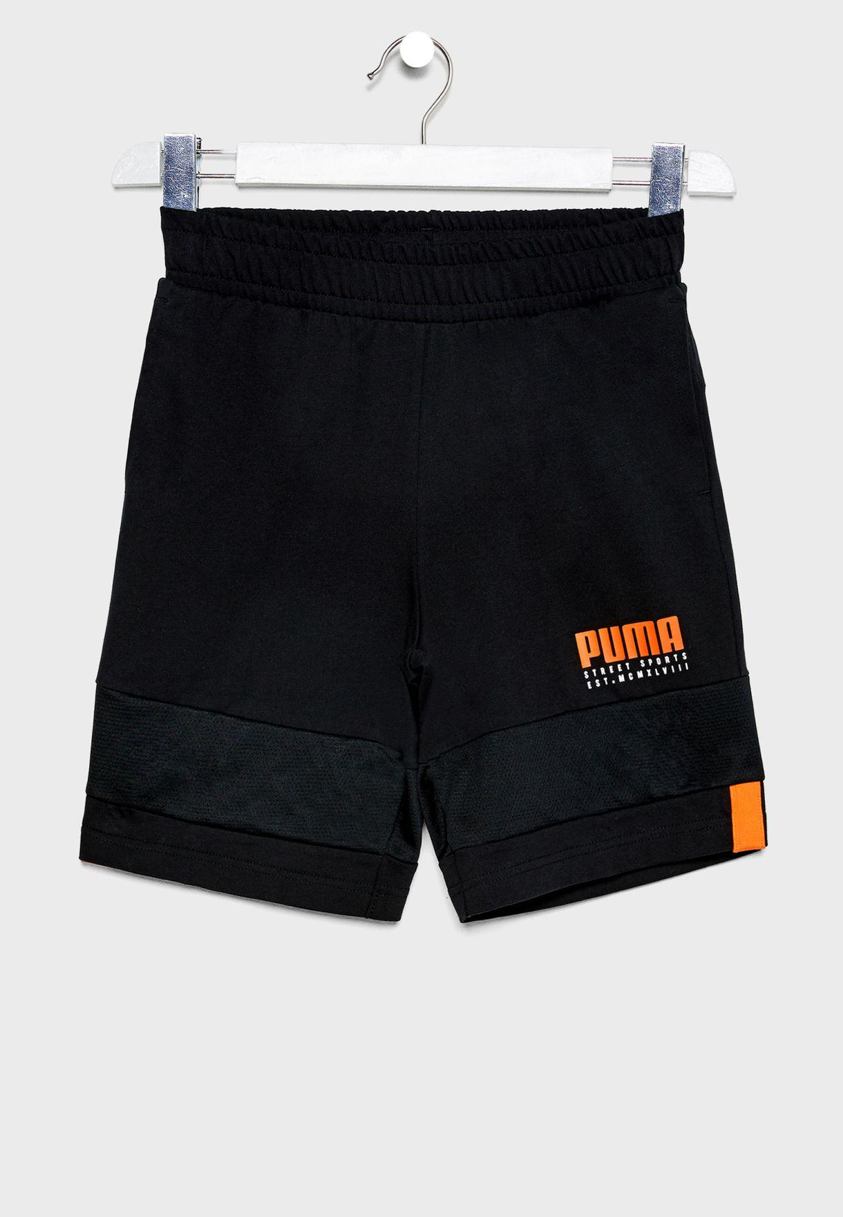 Kids Alpha Shorts