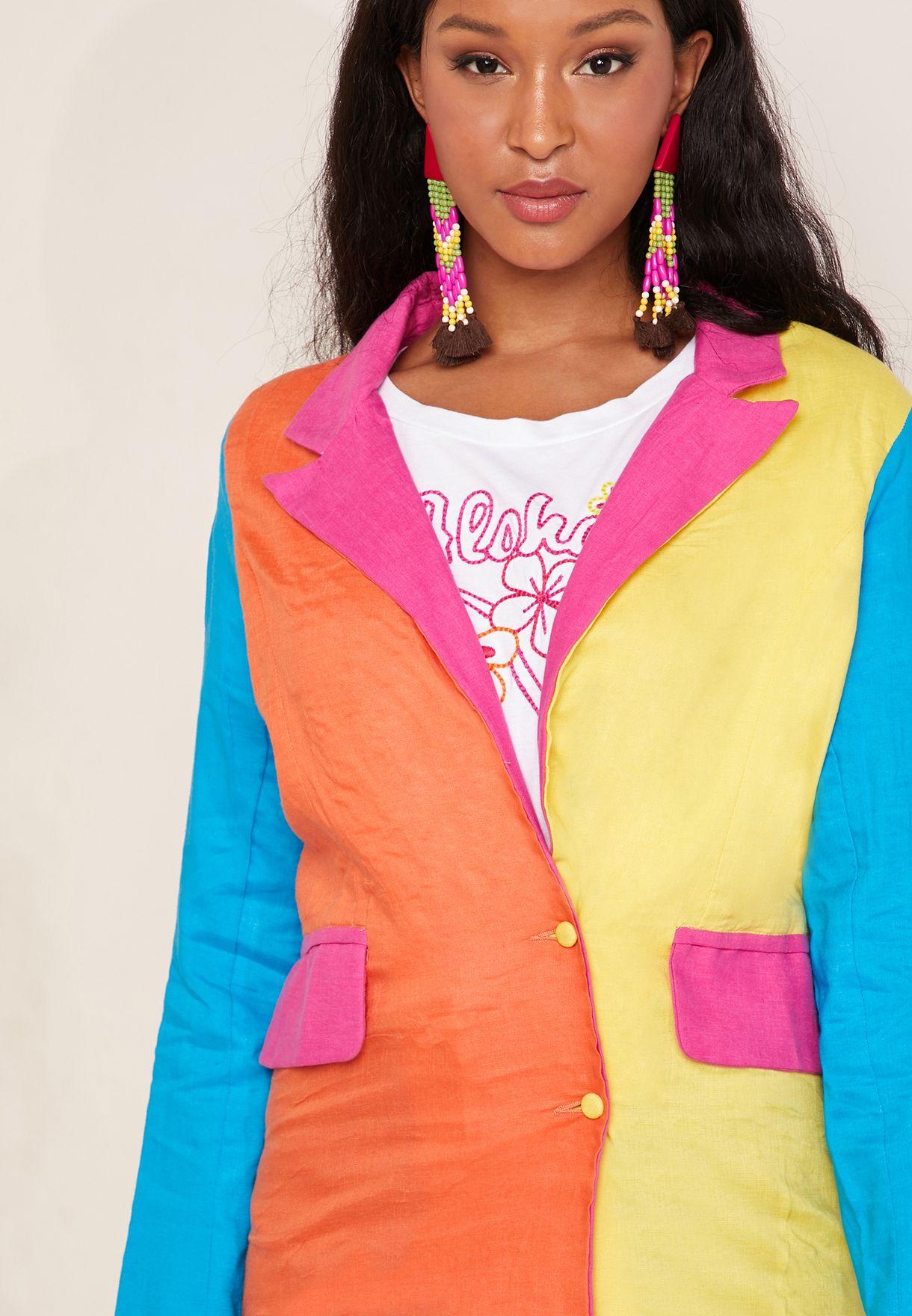 Iris Colourblock Blazer