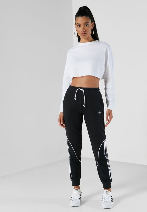 3 Stripe Colour Block Sweatpants