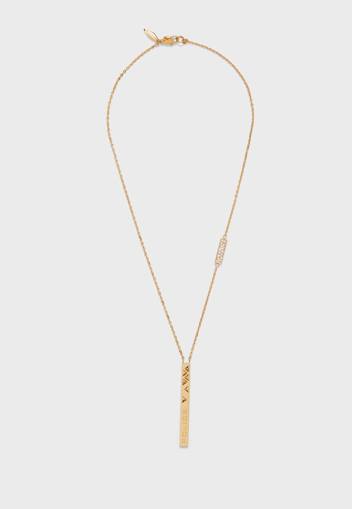 Chain Link Pendant Necklace