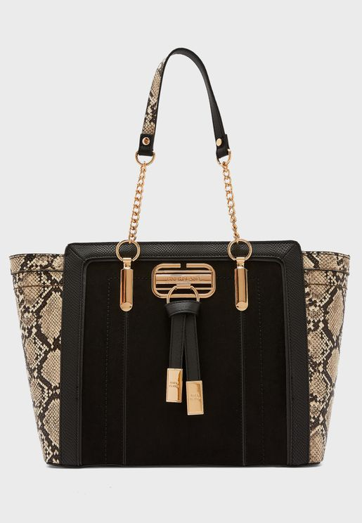 Panelled Wing Tote