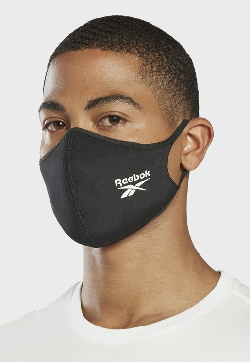Large Logo Face Mask