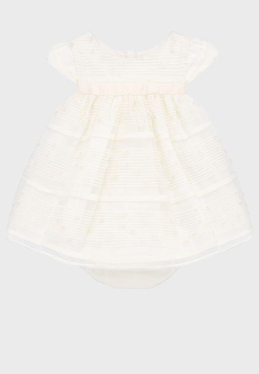 Infant Plimeti Dress + Knicker Set
