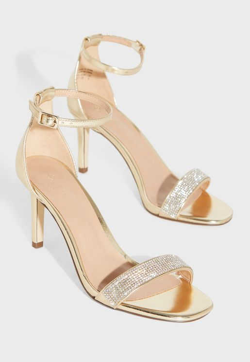 Kendraa Ankle Strap High Heel Sandal