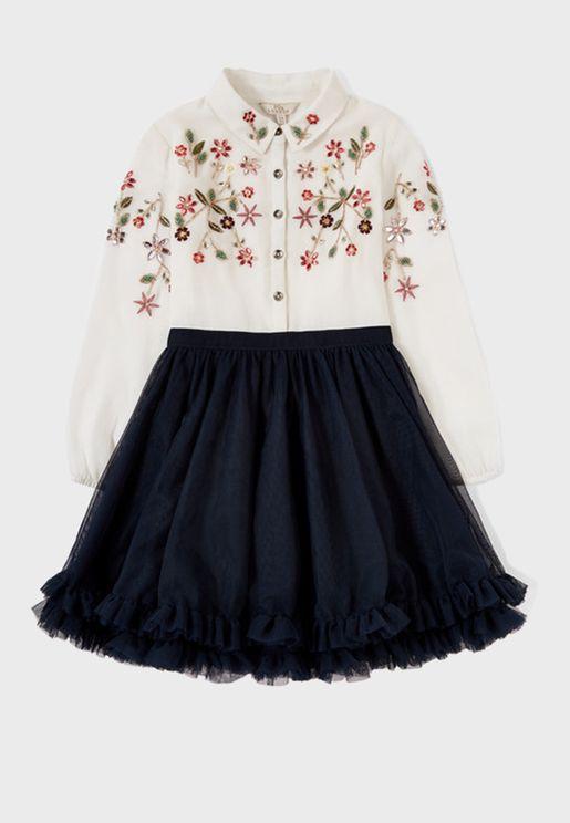 Kids Polly Paloma Dress