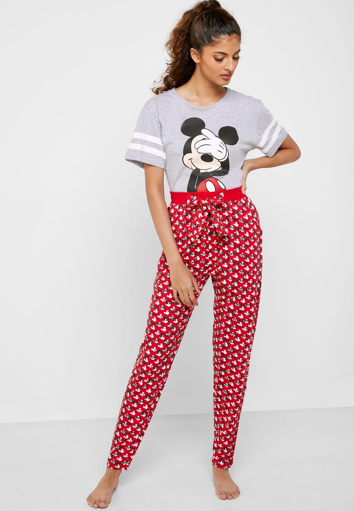 Minnie Mouse Printed Pyjama