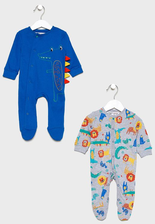 Infant 2 Pack Romper