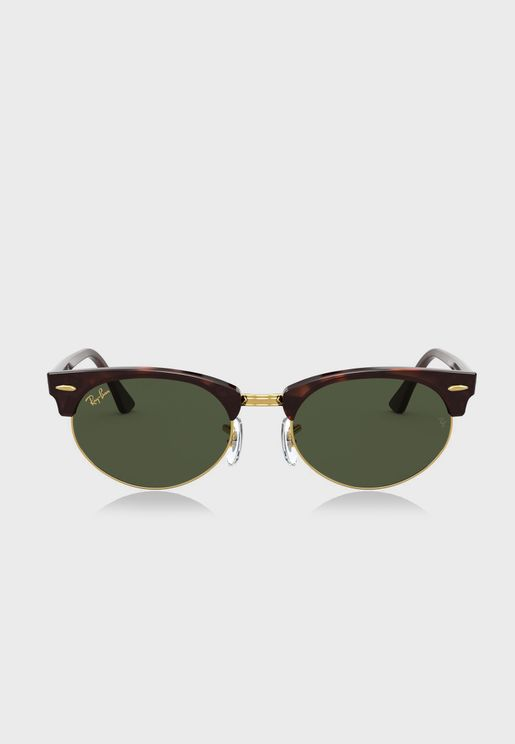 0Rb3946 Clubmaster Sunglasses