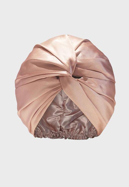 توربان من الحرير الخالص - وردي