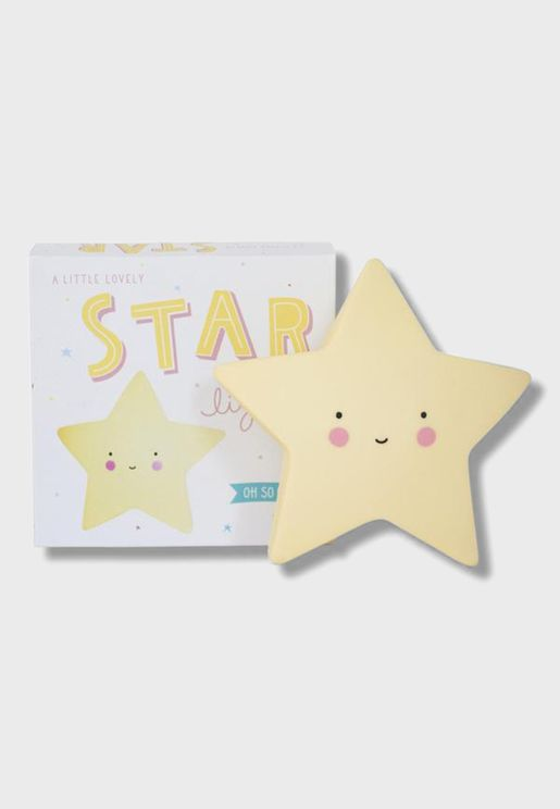 Mini Light Star Yellow
