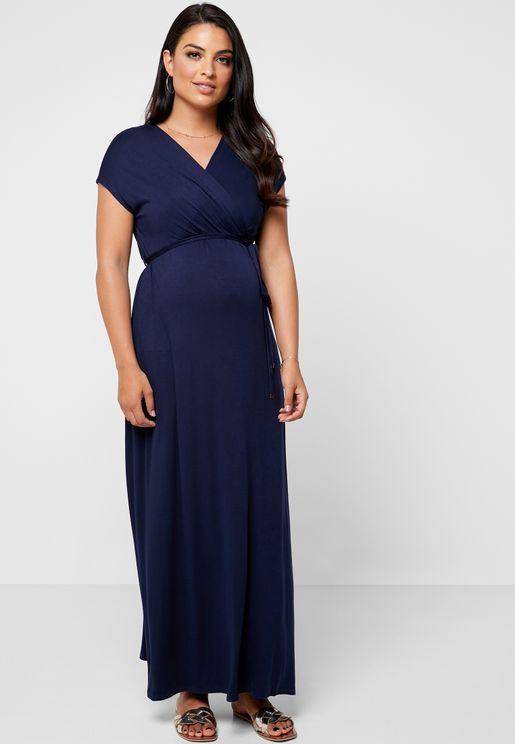 dc533a68ad Wrap Maxi Dress. MATERNITY. Dorothy Perkins Maternity