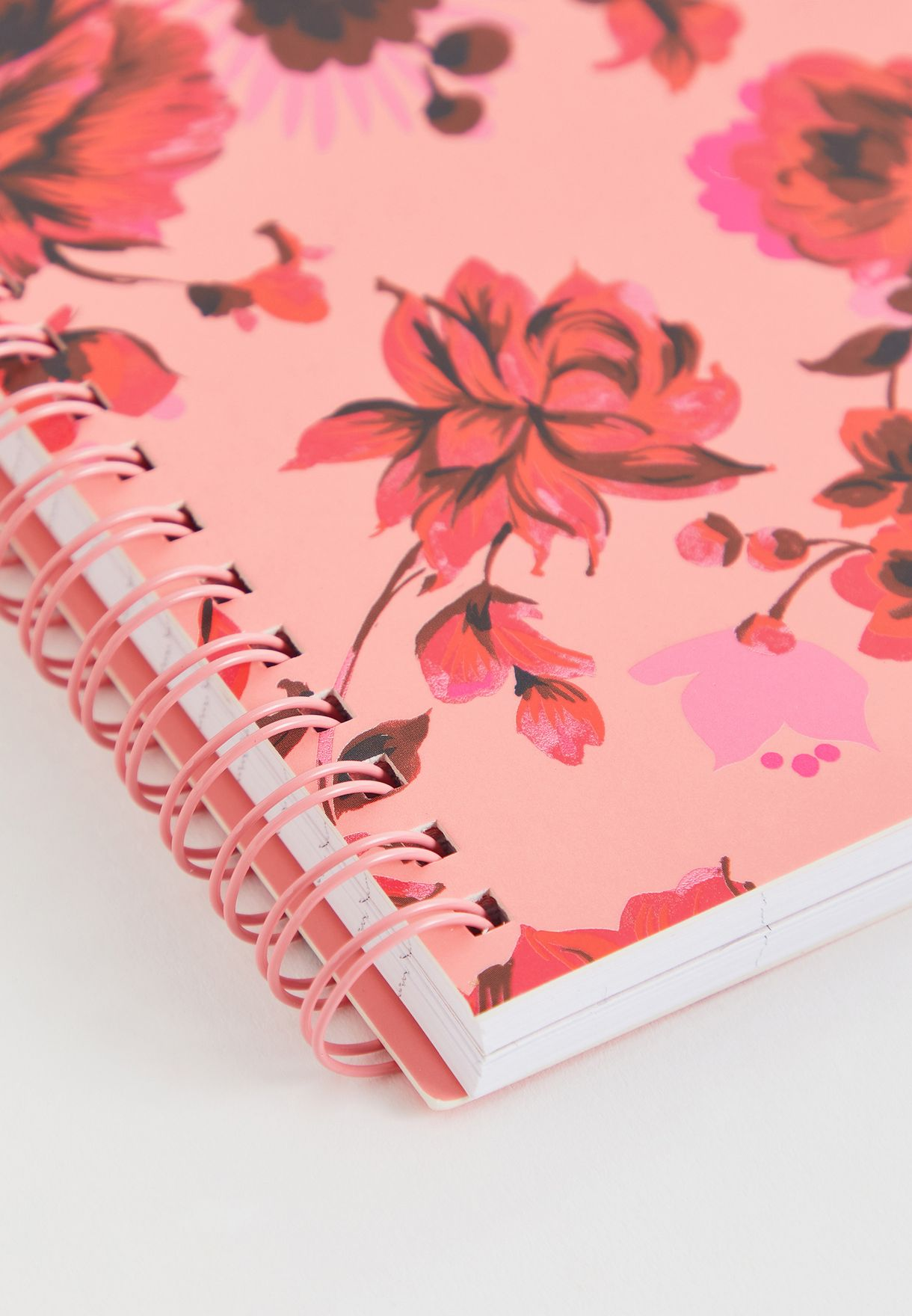 Mini Floral Rough Draft Notebook