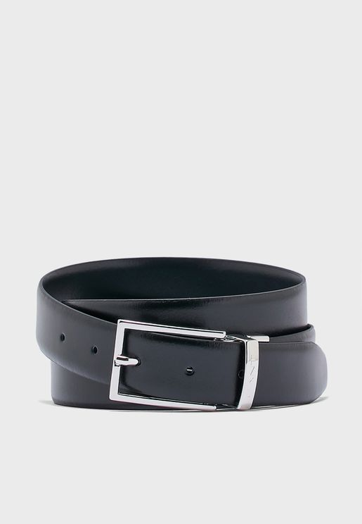 Reversible Leather Belt