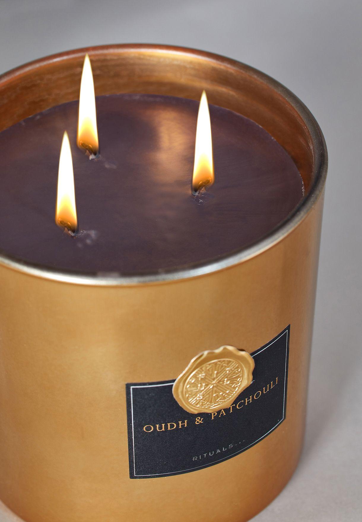 شمعة عطرية اكس لارج - ذا ريتشوال اوف عود