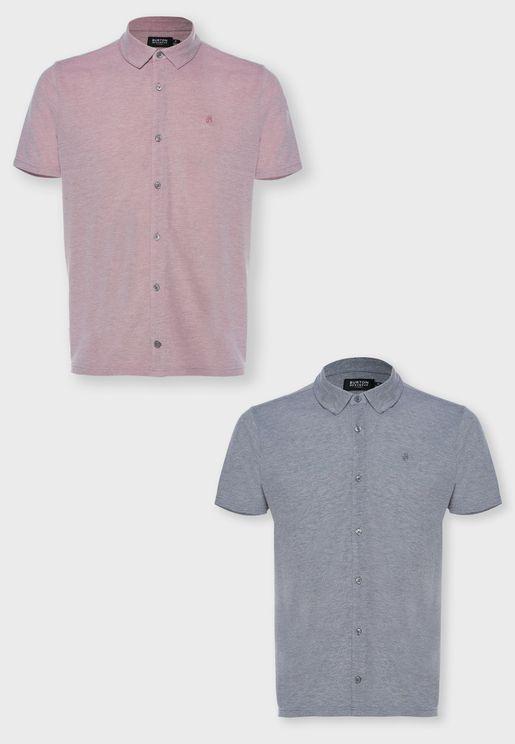 2 Pack Slim Fit Shirt