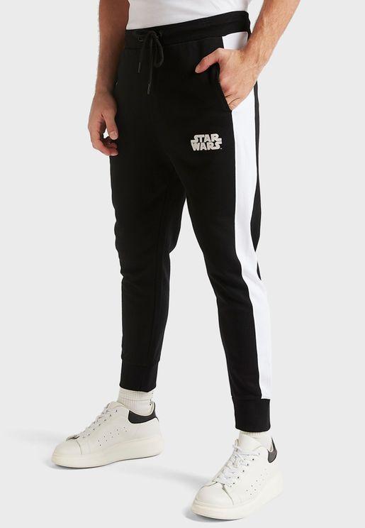 Star Wars Cuffed Sweatpants