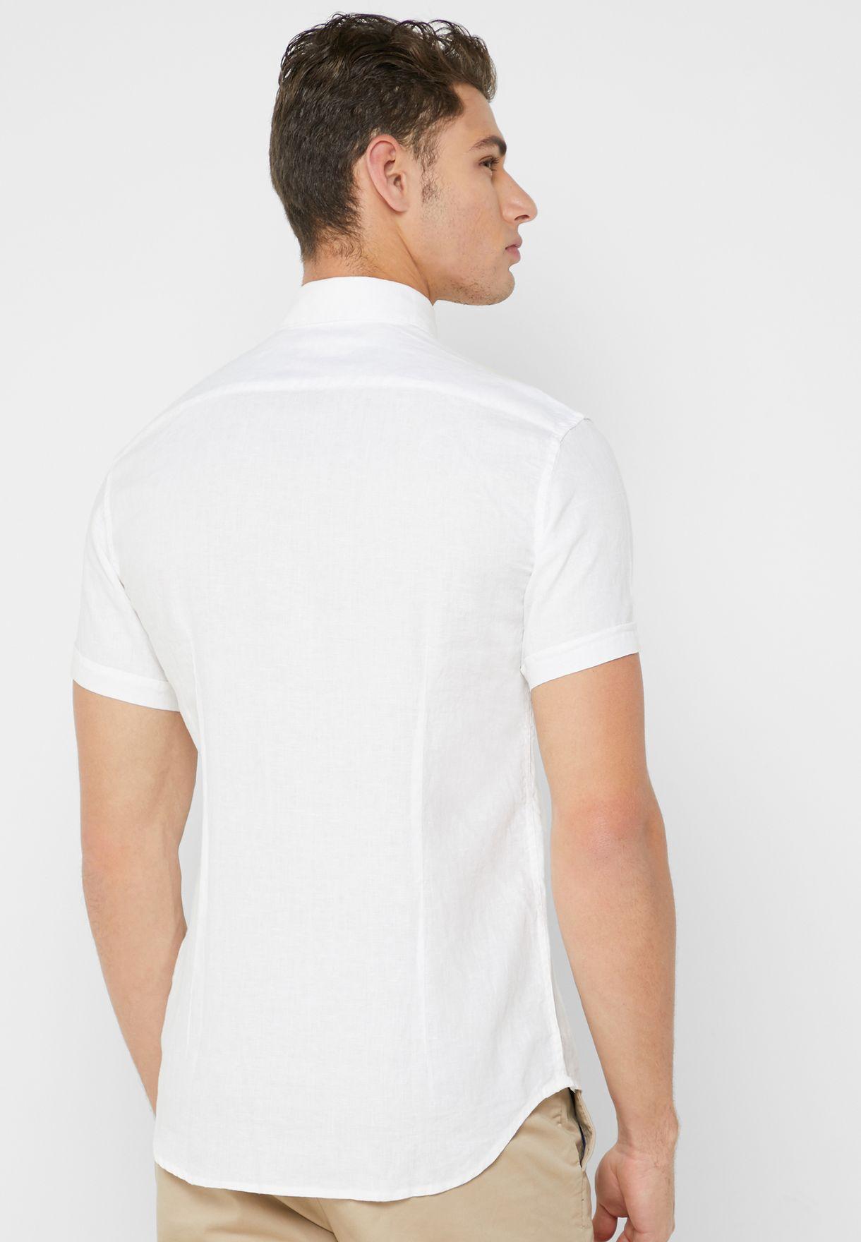 Two Pocket Slim Fit Shirt