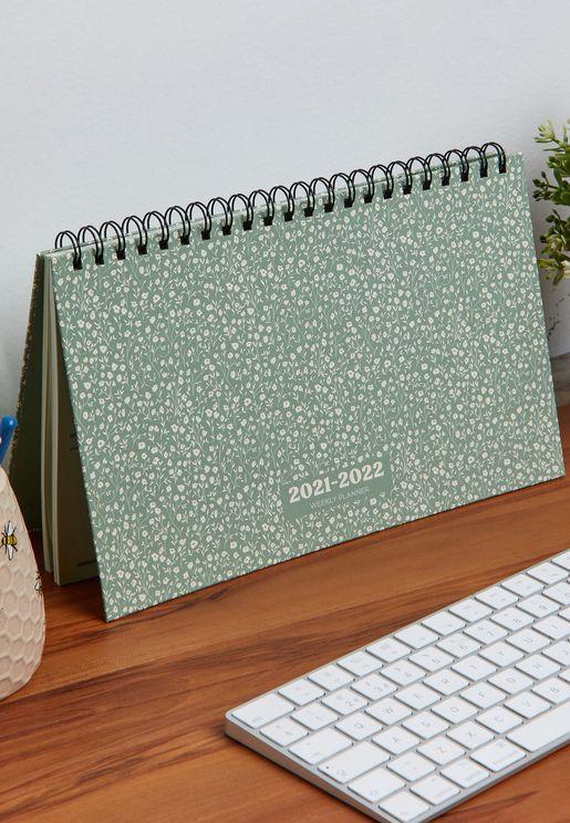 2021/22 Wide Desk Calendar