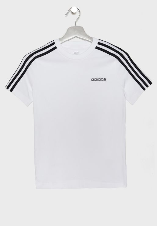 Youth Essential 3 Stripe T-Shirt
