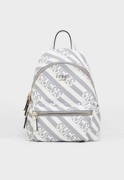 Leeza Front Zip Backpack