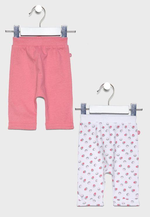 Infant 2 Pack Printed Sweatpants
