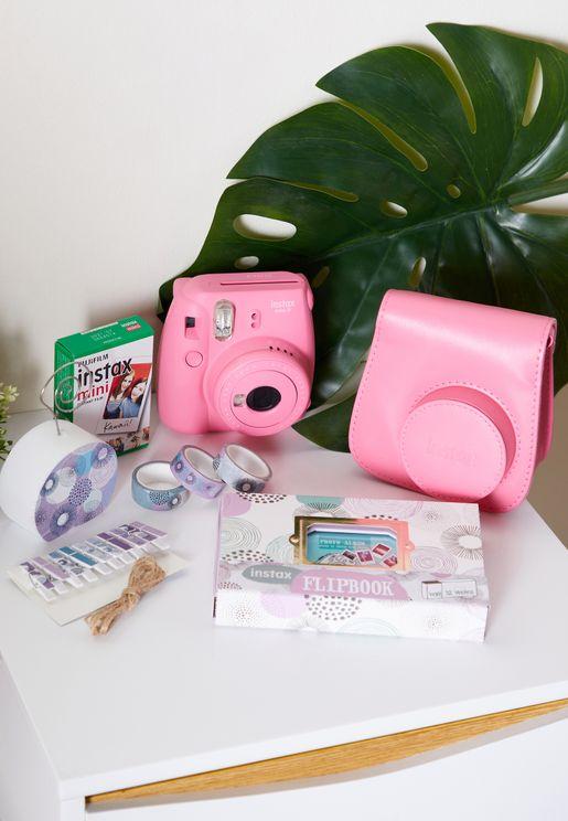 كاميرا انستاكس ميني 9 مع ملحقات